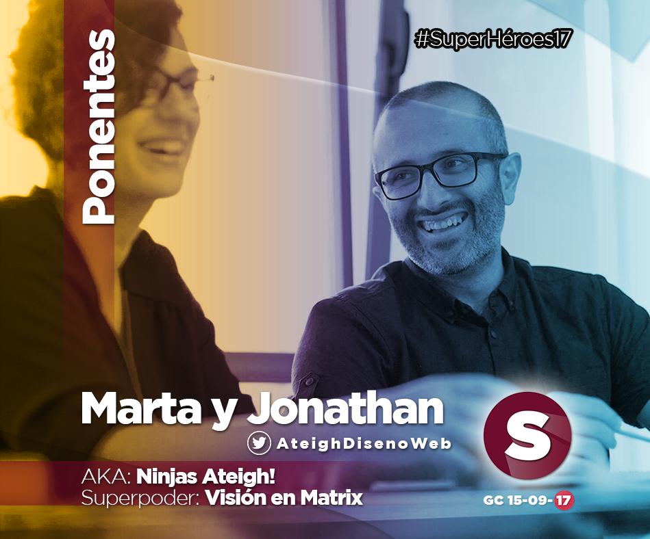 Marta y Jonathan