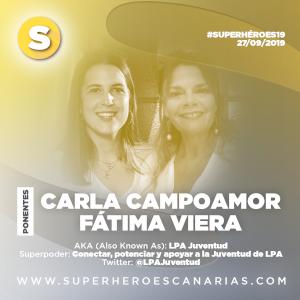 Carla Campoamor y Fátima Viera